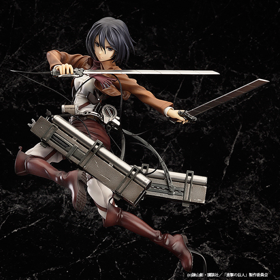Mikasa Ackerman Attack on Titan Figure 4571368442161