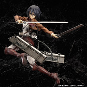 Mikasa Ackerman Attack on Titan Figure