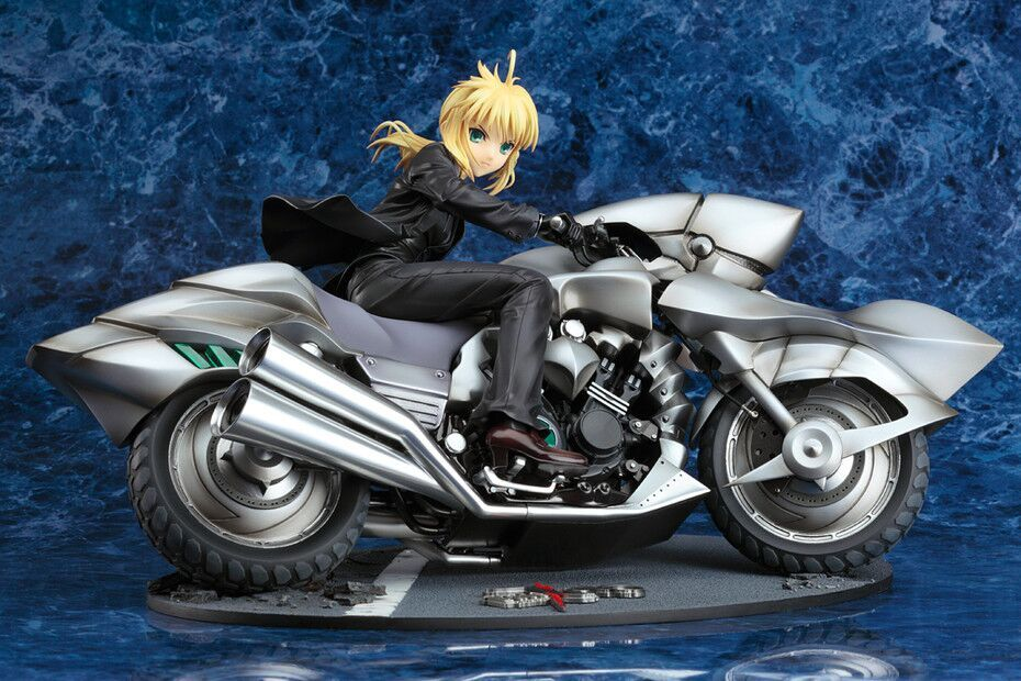 Saber & Motored Cuirassier (Re-Run) Fate/Zero Figure 4571368442789