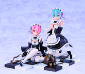Rem & Ram Special Stand Complete Set Ver Re:ZERO Figure