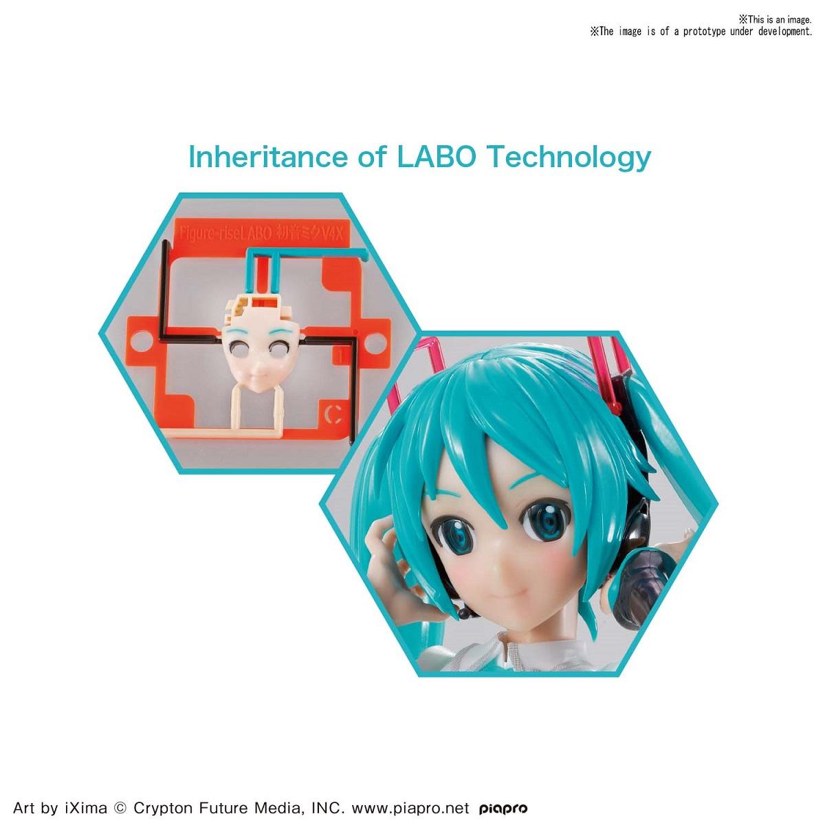 Hatsune Miku V4X Vocaloid Model Kit