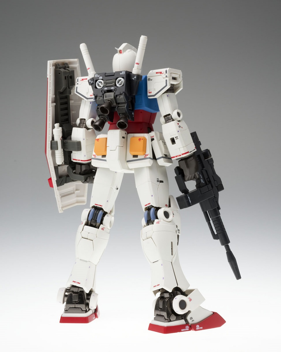 RX-78-02 Gundam 40th Anniversary Ver Mobile Suit Gundam The Origin Metal Composite Model Kit