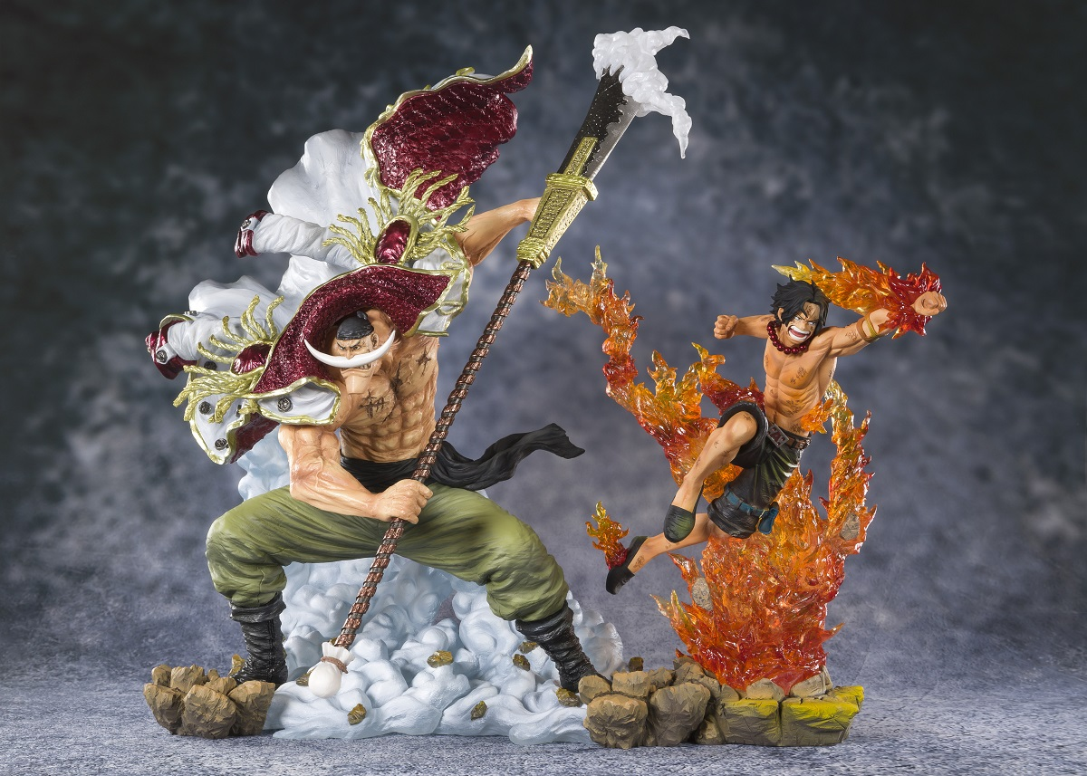 Portgas D Ace Commander of the Whitebeard 2nd Division One Piece Figurarts Figure