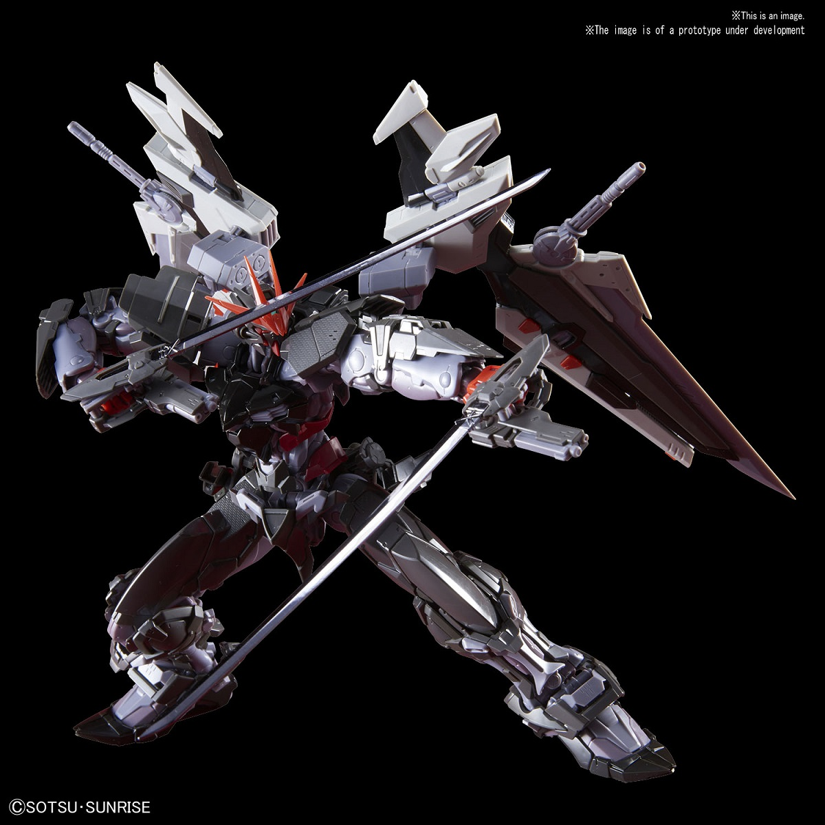 Gundam Astray Noir Gundam Seed Destiny 1/100 Hi-Resolution Model Kit