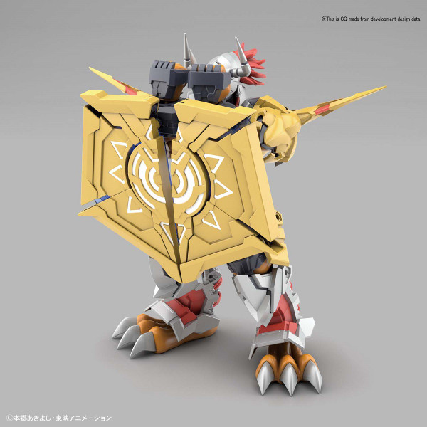 Wargreymon Amplified Ver Digimon Model Kit