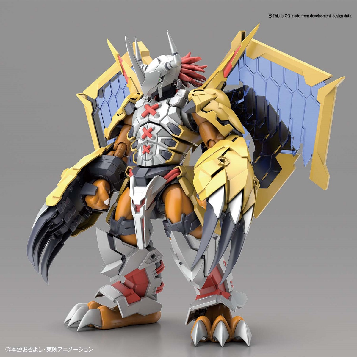 Wargreymon Amplified Ver Digimon Figure