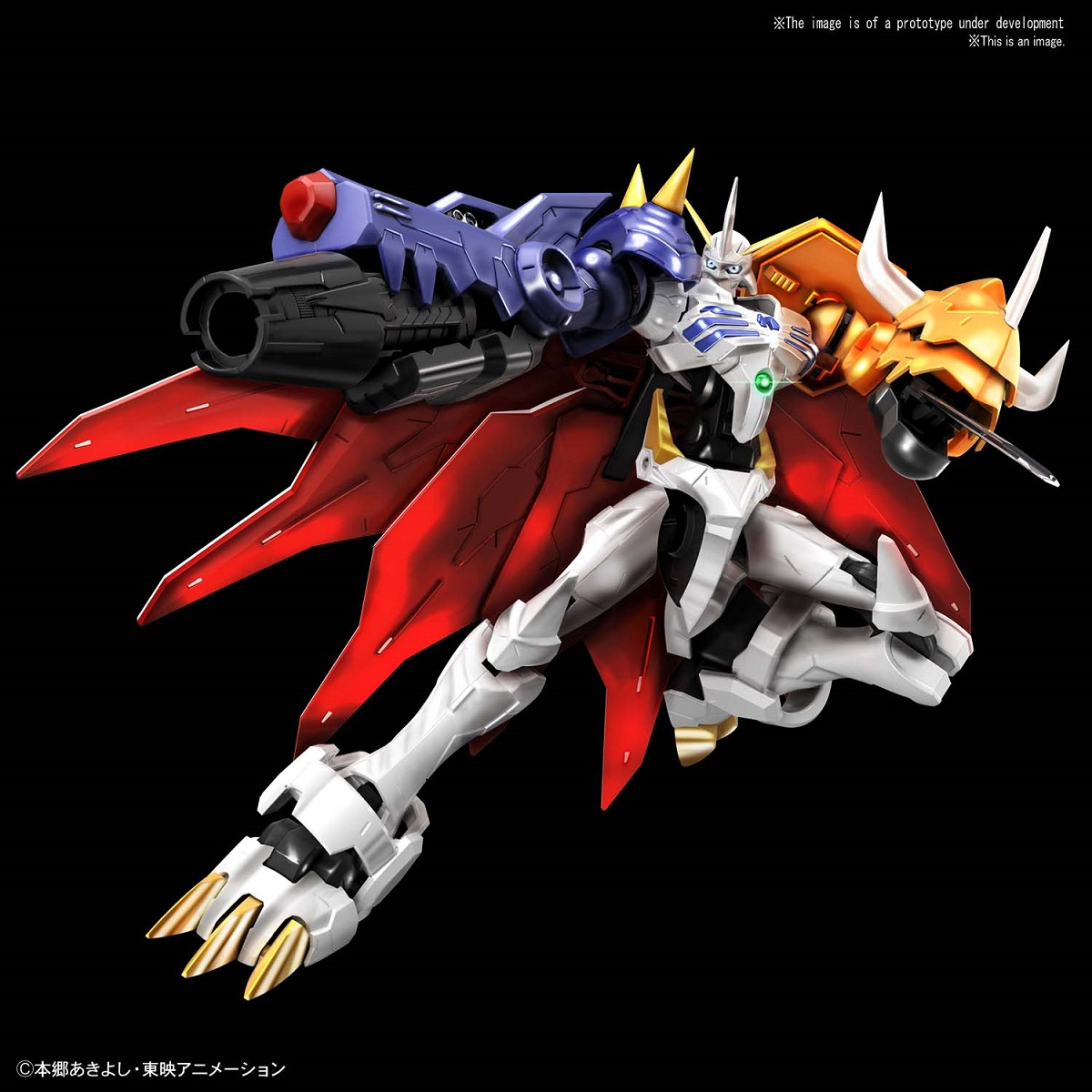Omegamon Amplified Ver Digimon Model Kit