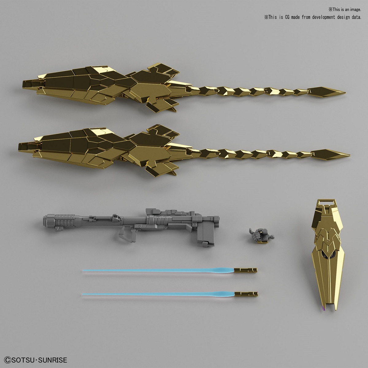 Phenex Unicorn Mode Gold Coating Ver Gundam Narrative HG 1/144 Model Kit