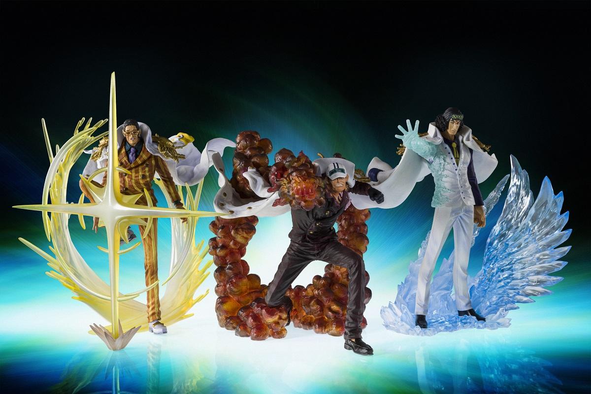 Borsalino Kizaru The Three Admirals One Piece Figure