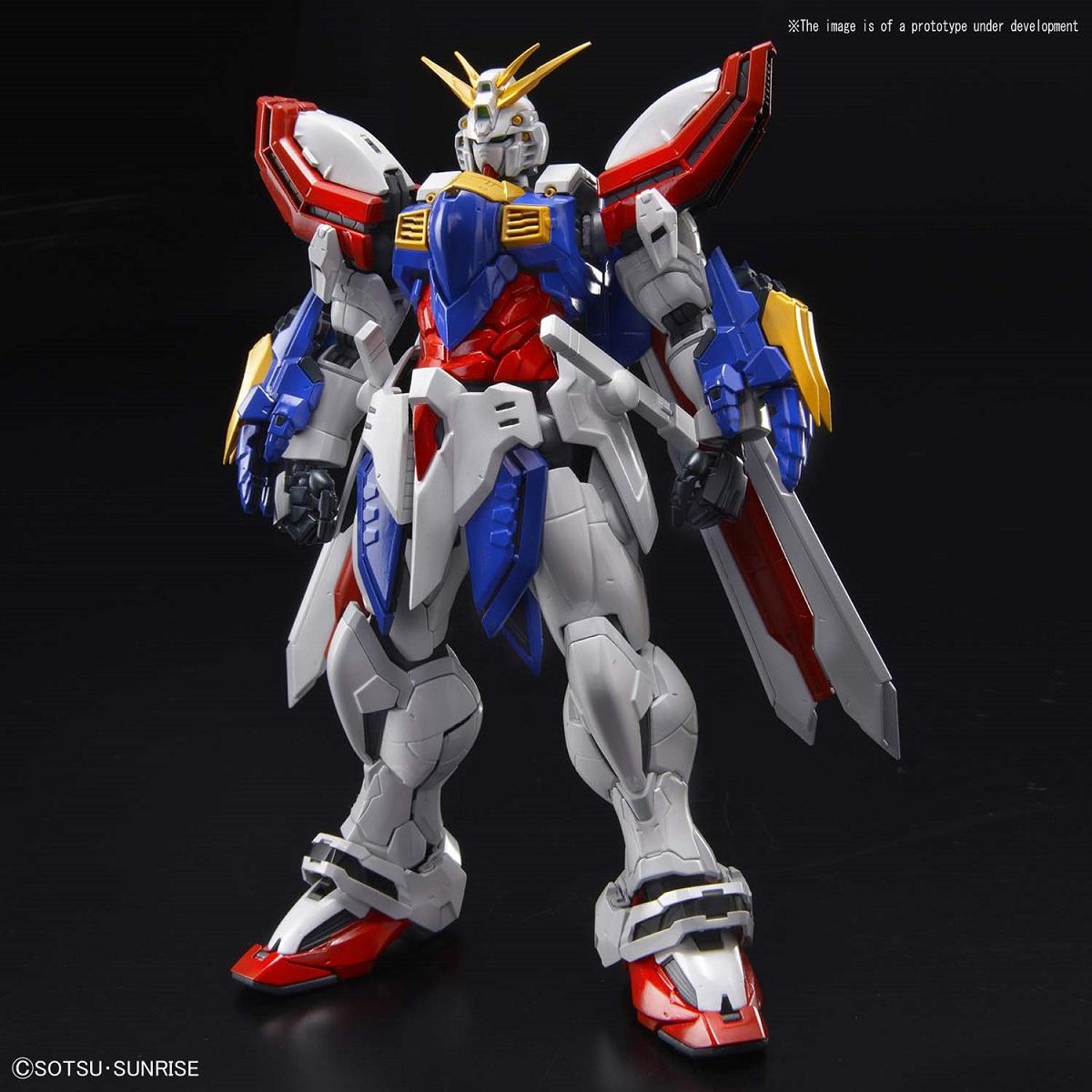 God Gundam G Gundam Hi-Resolution (1/100) Model Kit
