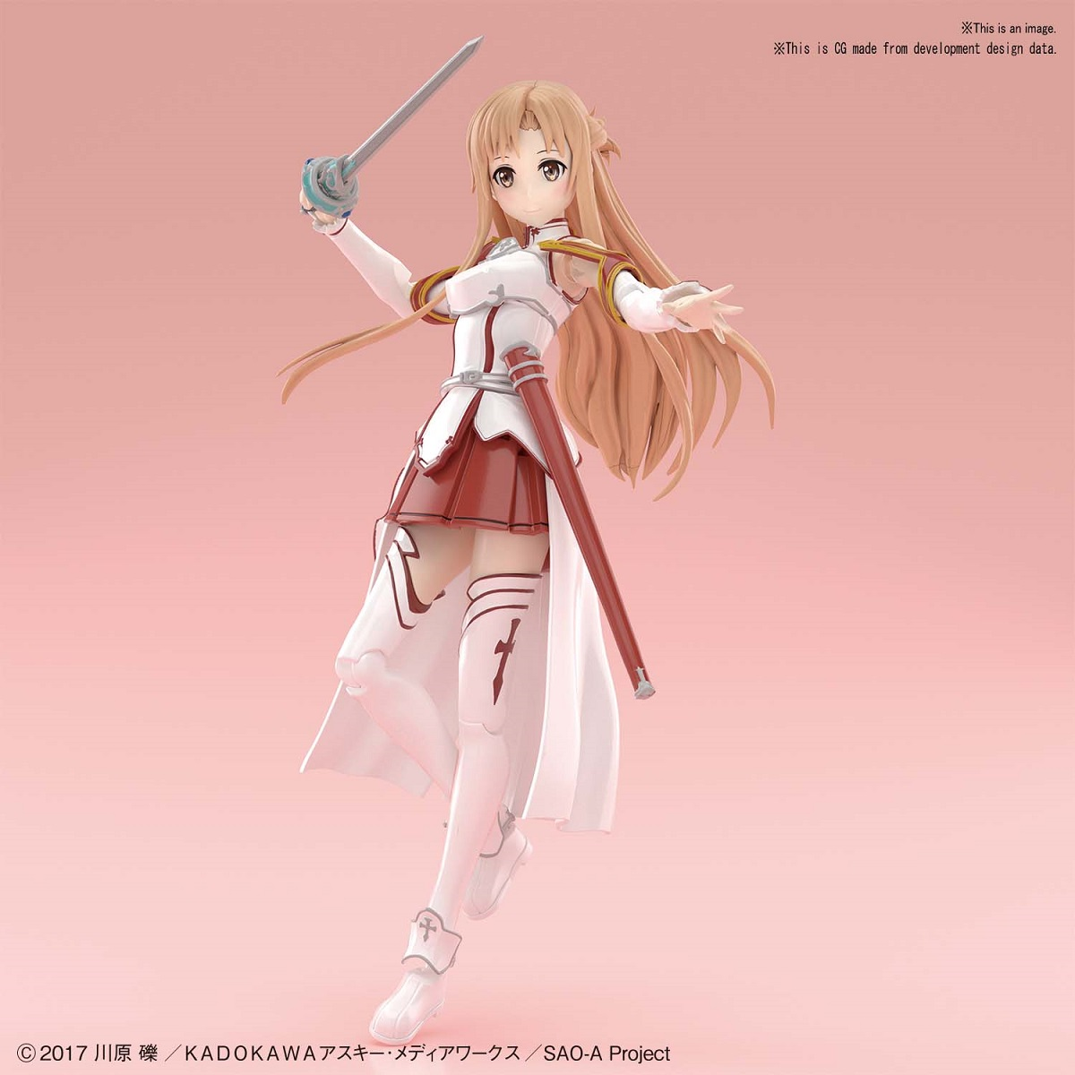 Asuna Knights of the Blood Sword Art Online Model Kit