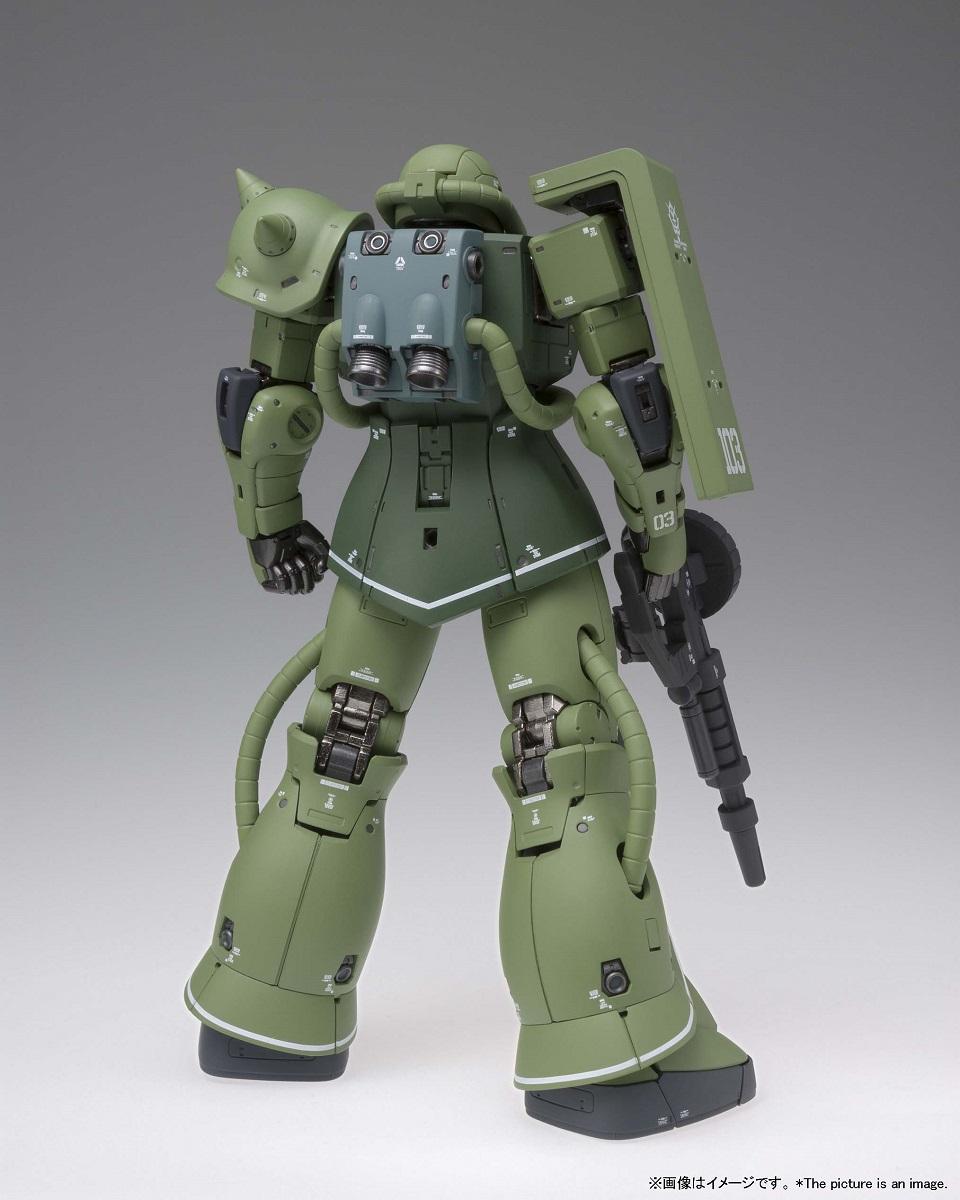 MS-06C Zaku II Type C Mobile Suit Gundam The Origin Metal Composite Model Kit