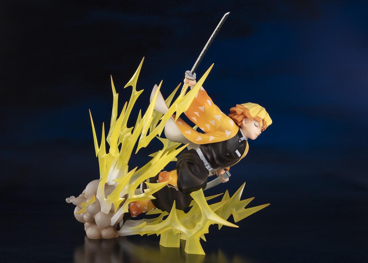 Zenitsu Agatsuma Thunder Breathing Ver Demon Slayer Figure