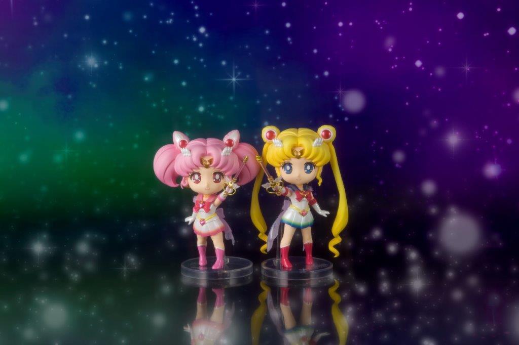 Super Sailor Chibi Moon Pretty Guardian Sailor Moon Eternal Figuarts Mini Figure