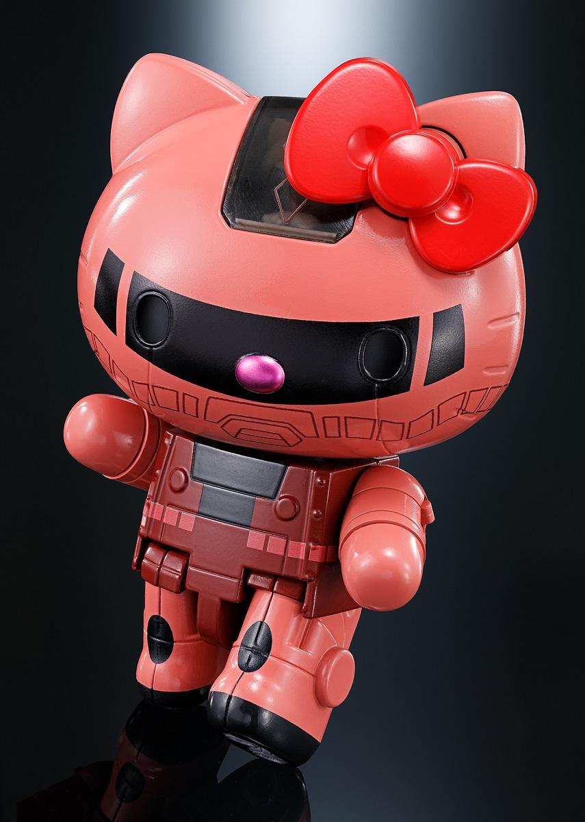 Hello Kitty Char's Zaku II Gundam Bandai Figure