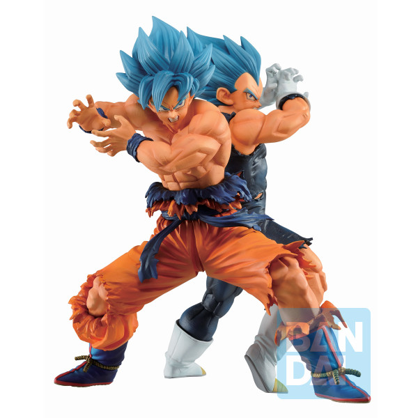 Son Goku & Vegeta Super Saiyan God Super Saiyan Ver Dragon Ball Super Ichiban Figure