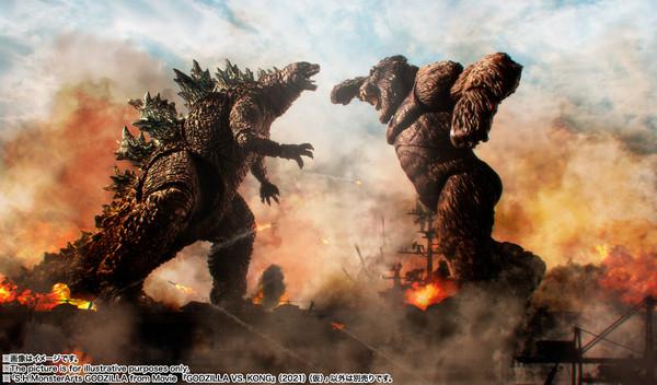 Godzilla Movie Ver Godzilla Vs Kong SH Monsterarts Figure