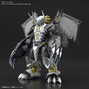 Black Wargreymon Amplified Ver Digimon Model Kit