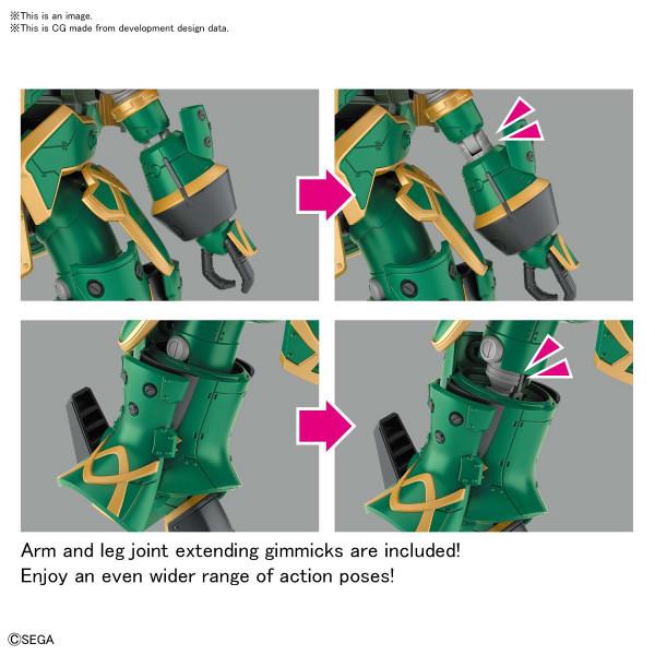 Spiricle Striker Mugen Claris Type Ver Sakura Wars HG 1/24 Model Kit