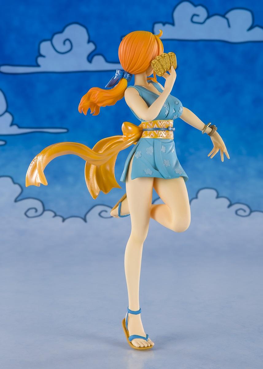 Nami Wano Arc Ver One Piece Figuarts Figure