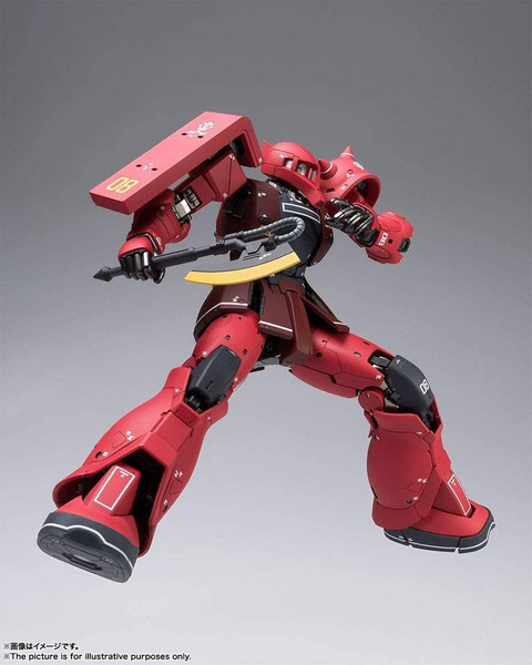 MS-05S Char Aznable's Zaku Mobile Suit Gundam Metal Build Figure