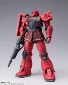 MS-05S Char Aznable's Zaku Mobile Suit Gundam Metal Build Figure