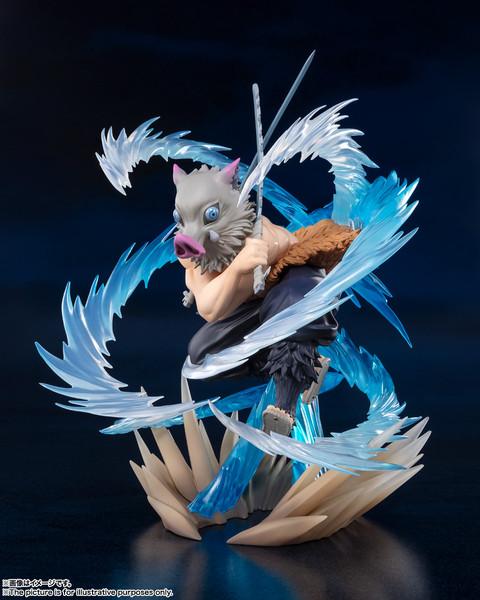 Inosuke Hashibira Beast Breathing Ver Demon Slayer Figuarts Figure