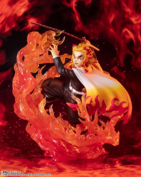 Kyojuro Rengoku Flame Breathing Ver Demon Slayer Figuarts Figure