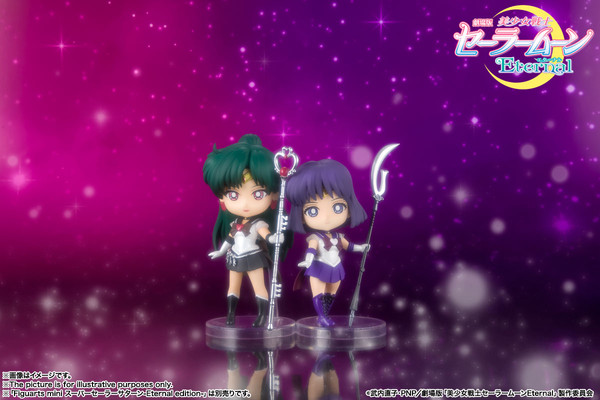 Super Sailor Pluto Pretty Guardian Sailor Moon Eternal Figuarts Mini Figure