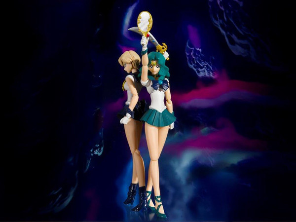 Sailor Neptune Animation Color Edition Pretty Guardian Sailor Moon SH Figuarts Figure
