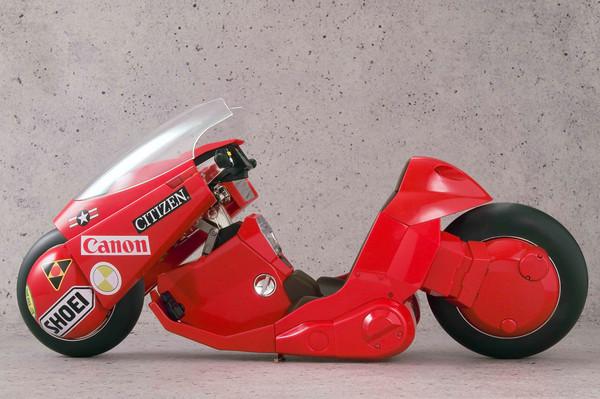 Kaneda's Bike Revival Ver Akira Figure