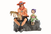 Ace & Otama One Piece Ichiban Figure