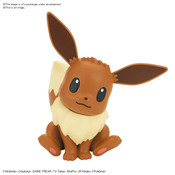 Eevee Pokemon Model Kit