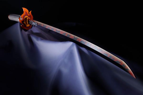 Kyojuro Rengoku's Nichirin Sword Demon Slayer Proplica