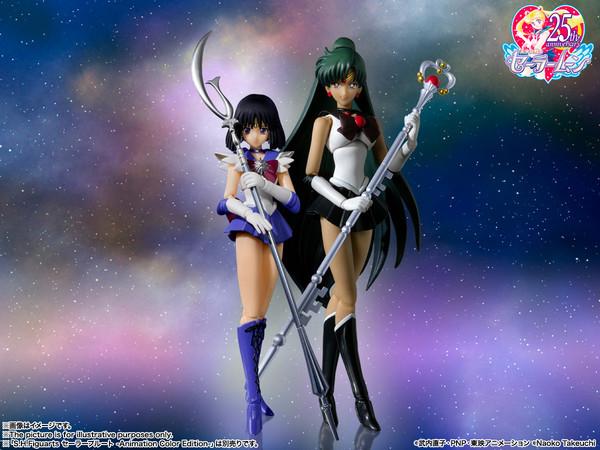 Sailor Saturn Animation Color Edition Pretty Guardian Sailor Moon SH Figuarts Figure