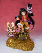 Monkey D Luffy & Tony Tony Chopper Daikaizoku Hyakkei Ver One Piece Figuarts ZERO Figure