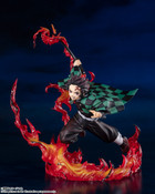 Tanjiro Kamado Total Concentration Breathing Ver Demon Slayer Figuarts Figure