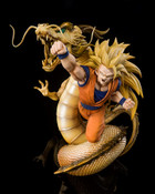 Super Saiyan 3 Son Goku Dragon Fist Explosion Ver Dragon Ball Z Figuarts Figure