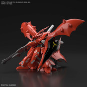 MSN-04II Nightingale Mobile Suit Gundam Chars Counter Attack Beltorchikas Children 1/144 Model Kit