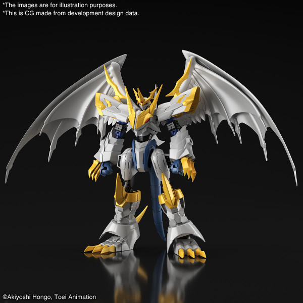 Imperialdramon Amplified Paladin Mode Ver Digimon Model Kit