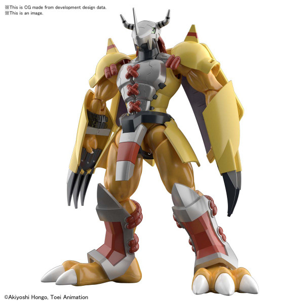 Wargreymon Digimon Model Kit