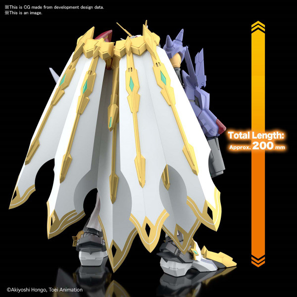 Omegamon X-Antibody Amplified Ver Digimon Model Kit