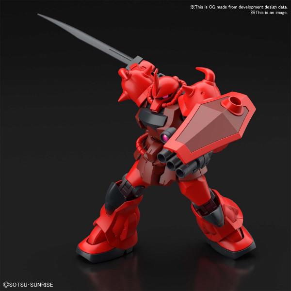 Gouf Crimson Custom HG 1/144 Gundam Breaker Battlogue Model Kit