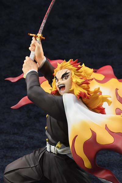 Kyojuro Rengoku Battle Stance Ver Demon Slayer Figure