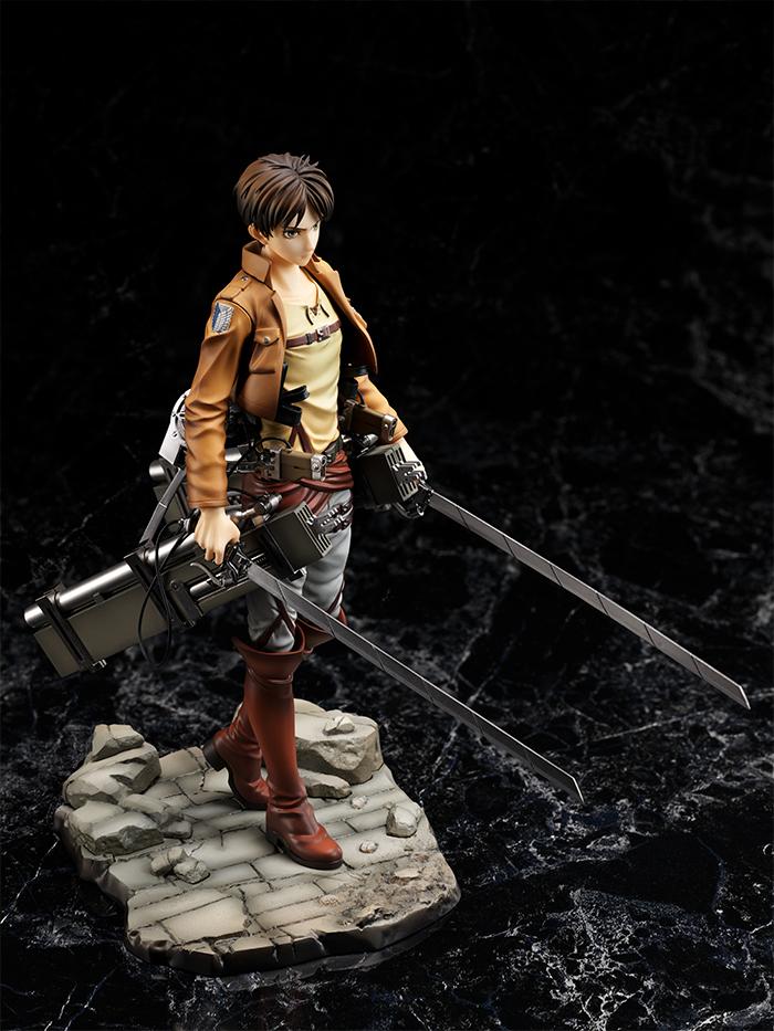 Eren Attack on Titan Figure