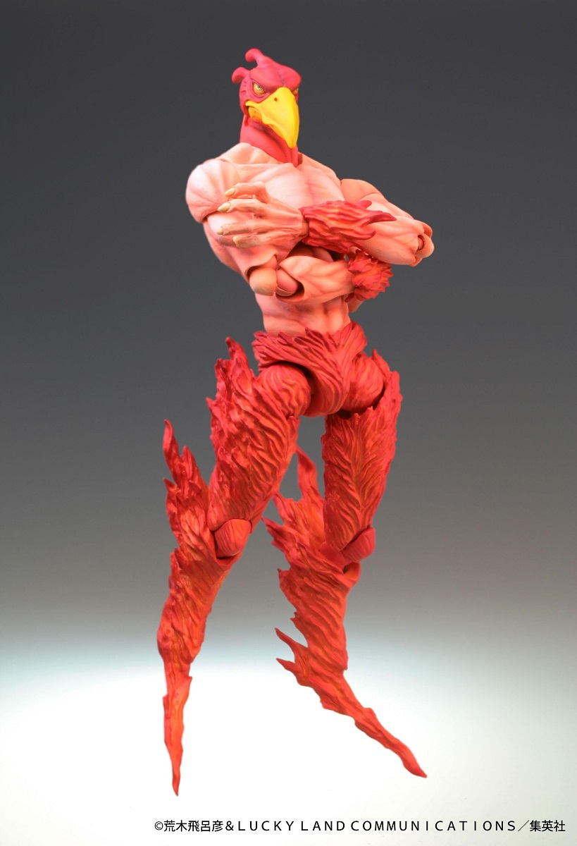 Magician's Red (Re-Run) JoJo's Bizarre Adventure Figure