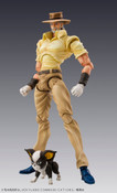 Joseph Joestar and Iggy (Re-run) JoJo's Bizarre Adventure Figure