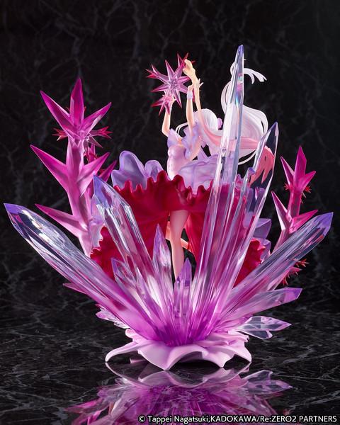 Emilia Frozen Crystal Dress Ver Re:ZERO Figure