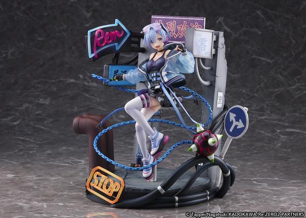 Rem Neon City Ver Re:ZERO Figure