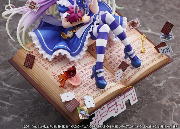 Shiro Alice in Wonderland Ver No Game No Life Figure